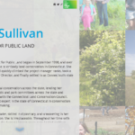 A story map highlighting the projects completed during Alicia Sullivan's tenure at The Trust for Public Land.