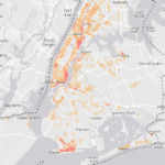The purpose of this study was to investigate what role NYC coastal green infrastructure (GI) played in building damages during Sandy. Specifically, the researchers wished to determine whether damages can be adequately predicted using only discrete physical relationships, such as topographic, distance to the coast, or proximity to a green space.